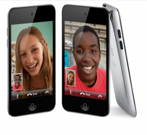 3 Different iPod Touch Devices - 2 Front facing & 1 side/back facing